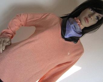 Vintage sweater powder trouser angora wool wool S / M