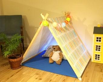 Tiny Tent pastel rainbow