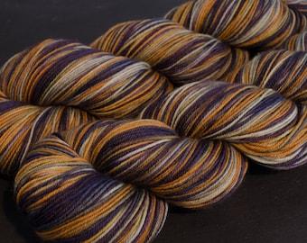 Pumpkin – Samba – Merino/Nylon sock yarn