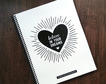 Health Coach Power Hour Tracking NOTEBOOK