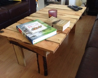 Coffee Table made with recycled pallet wood