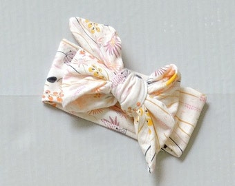 baby girl headwrap bow