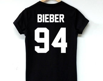 Justin Bieber shirts Bieber 94 tshirt clothing High Quality Screen Print cotton unisex tumblr women shirt men shirt