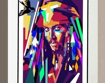 Art Print - Jack Sparrow