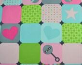 SALE!  Little One Panel - 100% Organic Cotton - Robert Kaufman Fabrics