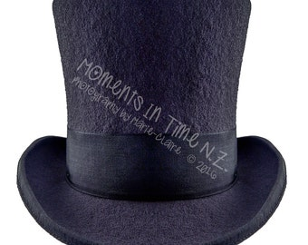 Moments In Time Top Hat Digital Overlay