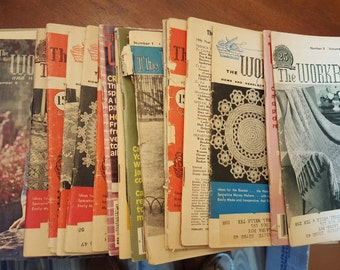 "A set of 20 ""The Workbasket"" Magazines"