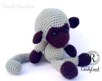 French Chocolate Michael - Tan Monkey