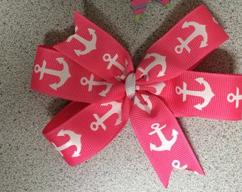 Pinwheel Hair Bow - Personalized