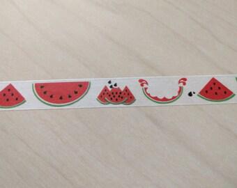 Watermelon washi tape - 24 inch sample