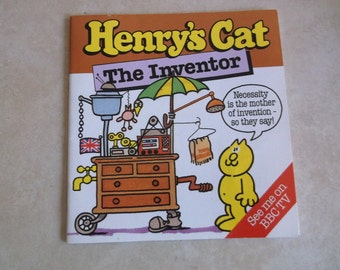 Henry's Cat, The Inventor Book. 1984