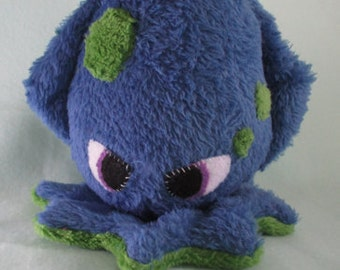 Angry Squid Stuffed Toy