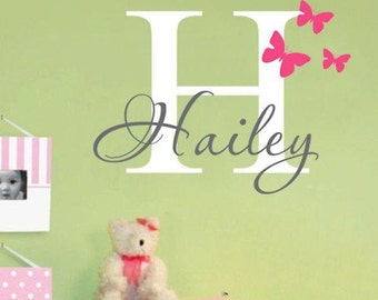 Letter and Name Personalized Wall Decor