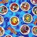 """Yokai Watch Medal Character Fabric made in Japan, FQ 45cm by 53cm or 18"""" by 21"""""""