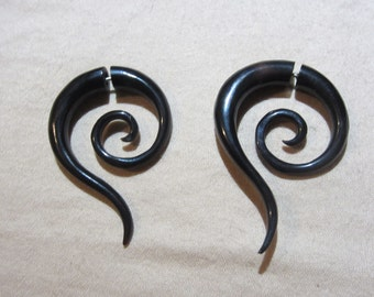 Fake Gauges made out of Horn