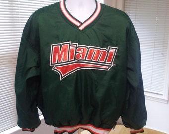 Miami Hurricanes Starter Jacket