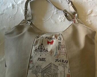 Large handbag Paris