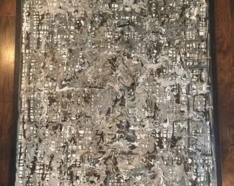 Original Abstact Canvas Art (30x40)