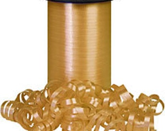Gold curling ribbon    (18-S-276)
