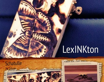 Pen box skull/Motte