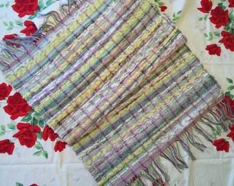 """Handmade Loomed Rag Rug (26.5""""X43"""")"""