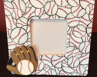 Baseball Picture Frame, Baseball Player Frame, Baseball Gift, Baseball Frame