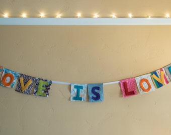 "Banner - ""Love is Love"""