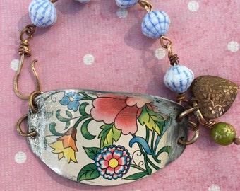 One Of A KInd Daher Tin Bracelet