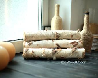 5 White Birch Logs,Birch Logs, Birch Wood, Craft Supply, Carving Wood,Rustic Birch Decor