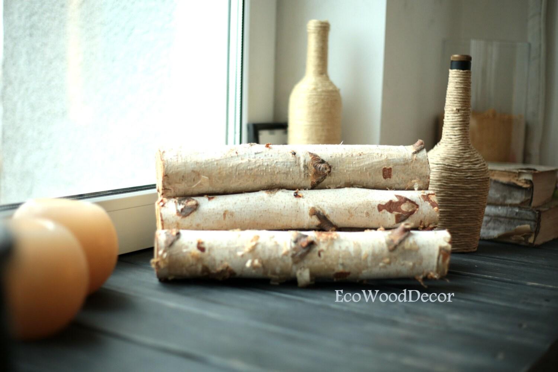 5 white birch logsbirch logs birch wood craft supply for White birch log crafts
