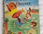 DANNY BEAVER'S SECRET Little Golden Book A Edition