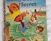 DANNY BEAVER'S SECRET Little Golden Book A Edition