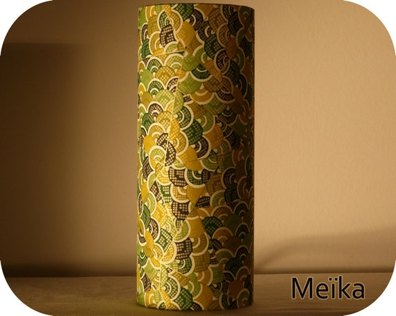 lampe tube poser papier japonais. Black Bedroom Furniture Sets. Home Design Ideas