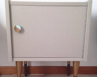 Bedside table/Cabinet in Scandinavian style.