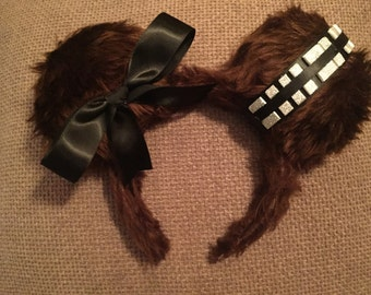 Disney inspired Chewbacca ears
