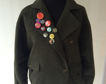 Vintage 80s Burberry Jacket - Authentic!