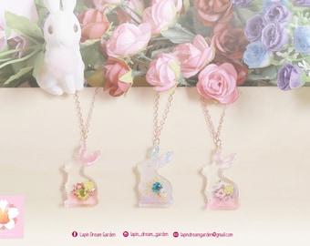 Blossom of Rabbit pendant