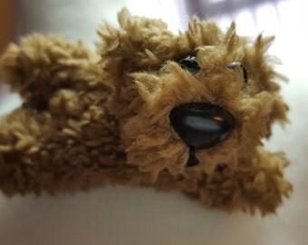Handmade teddy bear broach