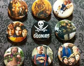 9 Goonies Button Set