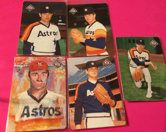 1994 Mother's Cookies - Nolan Ryan 1984 Astros - 1993 Rangers - Set Of 10 Cards