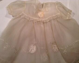 Vintage Sheer Toddlers dress