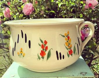 Adderley champer pot, garden planter, Art Deco pottery, vintage planter pot, adderley ceramics.
