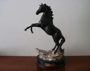 Cancara the Black Horse by  Beswick