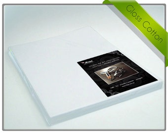 Glossy Canvas Paper for Inkjet Printers A4