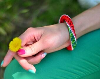 Bracelet Bracelets Beaded Bracelet Bead Bracelet Seed Bead Bracelet Crochet Bracelet