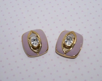 "Vintage Earrings (clip-on) - ""Dolly"""