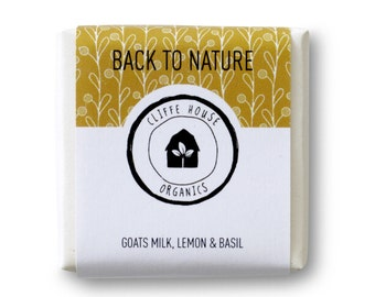 Back To Nature Natural Soap