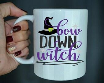 Bow Down Witch - Halloween Coffee Mug