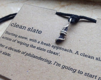 Handmade 'Clean Slate' Necklace
