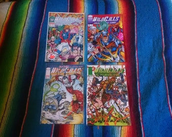 WildCats Comic Book Lot of 4 books Image